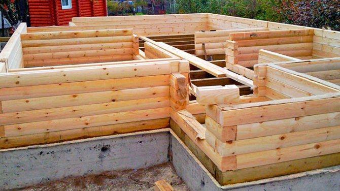 Советы по постройке первого бревенчатого дома